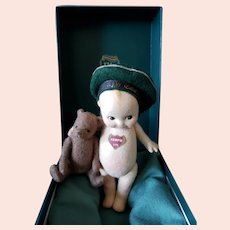 "MIB R. John Wright ""Kewpie & Teddy"" Doll"