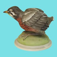 Signed Boehm Porcelain Bird Figure - First Venture