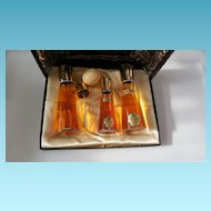 Vintage Deleith Blue Flame Fragrance Set