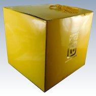 Vintage Sealed Faberge Kiku Dusting Powder In OB - Unused 10 OZ W Bamboo Puff