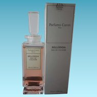 Sealed Bellodgia Eau de Cologne by Caron 3.38 oz Unused Full Bottle Estate Find