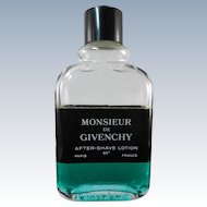 Retro Original Formula Monsiuer De Givenchy After Shave 1/3 Full