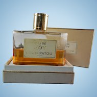 Eau De Joy Splash On In Original Box Jean Patou Bottle Half Full