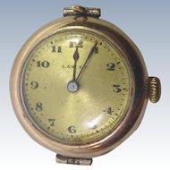 Antique Lancet Ladies Wristwatch With DiDisheim 15J Movement & 20 Year Windsor Case