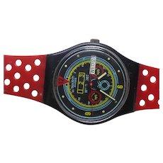 Vintage 1987 Swatch Wristwatch - Navigator GB707