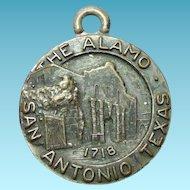 Older Vintage Bates & Klinke Alamo 1718 Fob or Souvenir Tag
