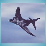 Authentic Vintage Harry Gann Aircraft Photo McDonnell Douglas - 8x10 Photo From Military Estate