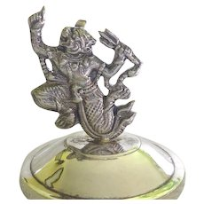 Siam Sterling Silver Hanuman Monkey King - Card Holder, Figure or Paperweight