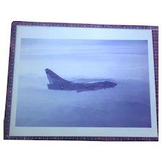 Authentic Vintage Harry Gann McDonnell Douglas Military Photo 8x10 Color