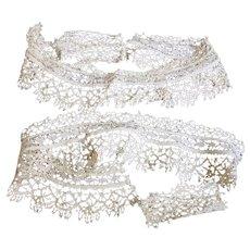 Antique Lace Trim - Lace Cuffs