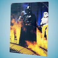 1980 Empire Strikes Back Darth Vader Photo by Geo Whitear Color 8X11 - Star Wars Genre