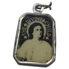 Vintage Religious Medal - The Divine Child / Saint Gerard Christian