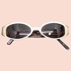 Vintage Sunglasses With Rhinestones, Metal Fronts & Faux Tortoiseshell Arms