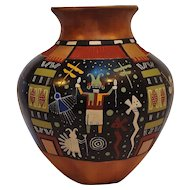 Lawrence Namoke Hopi Solistice pot pottery