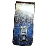 Rowe sterling silver cigarette vending machine money clip