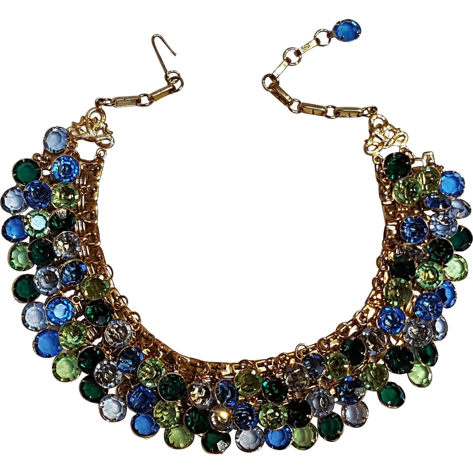 diamond mesh index i naples necklace