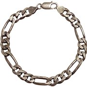 Sterling silver Italy chain bracelet 20 grams DES