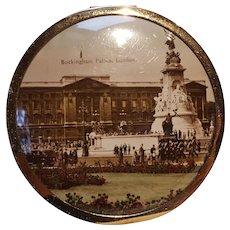 London souvenir compact Buckingham palace made in England