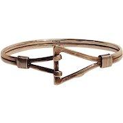 T.Shea sterling silver bracelet hand made studio