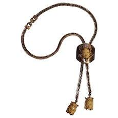 Selro bolo slide necklace Asian princess design