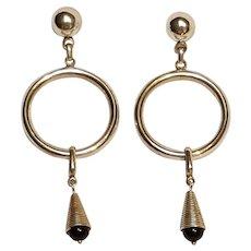 Taxco sterling silver long drop   earrings post findings
