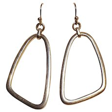Silpada sterling silver drop earrings Mod design