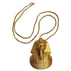 MMA King Tut pendant necklace 1976 Metropolitan Museum of Art