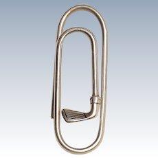 Tiffany & Co sterling silver  golf club money clip