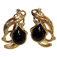 Barrera for Avon Granada Collection clip earrings