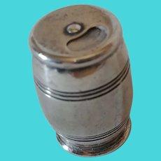 Tiffany & Co Makers sterling silver barrel pill box