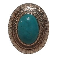 Carolyn Pollack Relios sterling silver turquoise ring Southwest