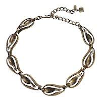 Kramer choker necklace Modern abstract design