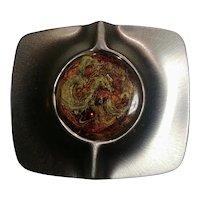 Sterling silver Modernist pin R. Mastens