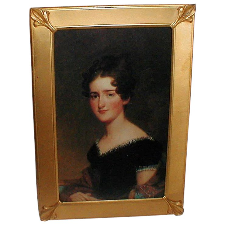 Gold Plated Picture Frame Maker K O Patd 1909 The Frame Lady