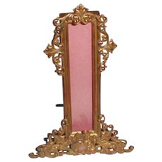 BRASS Thermometer Frame ca. 1900