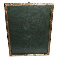 FRENCH BRONZE Gold-Plated Antique Picture Frame