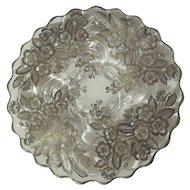 "Cambridge ""CAPRICE""  Silver Overlay Cake Plate"