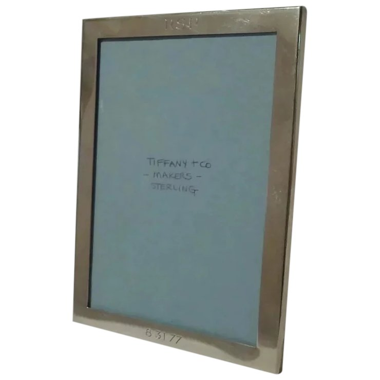 Tiffany Co Makers Horizontalvertical Sterling Picture Frame
