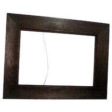 ARTS & Crafts Fumed Oak Frame ca. 1900