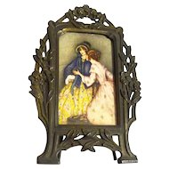 Miniature FRENCH Advertising Frame Graymoor NY