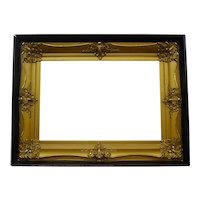 American GILDED Shadowbox Frame circa 1900 Large Size