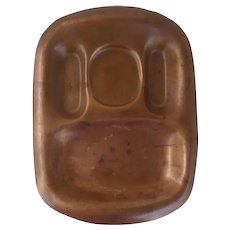 GORHAM 1898 Copper Man's Dresser Valet Tray