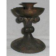 GOBERG Arts & Crafts/Jugendstil  Iron Candlestick