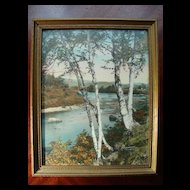 Carrabasset Valley by Sawyer - Original Frame