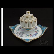 Dresden Hand Painted Cigarette Display - Marie Antoinette - Thieme