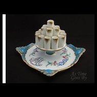 Dresden Hand Painted Cigarette Display - Marie Antoinette - Thieme