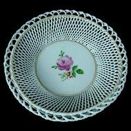Von Schierholz Hand Painted Woven Porcelain Bowl