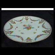 Hand Painted Dresden Platter - Lamm