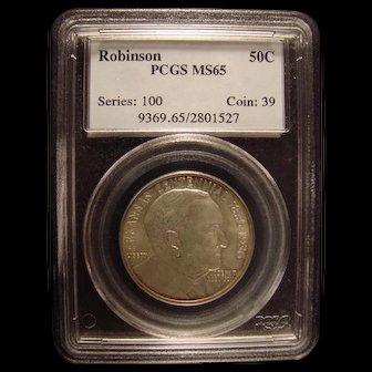 Robinson - Arkansas Centennial 1936  PCGS MS65 Commemorative Half