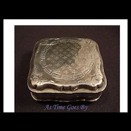 Antique Hallmarked Silver Snuff Box